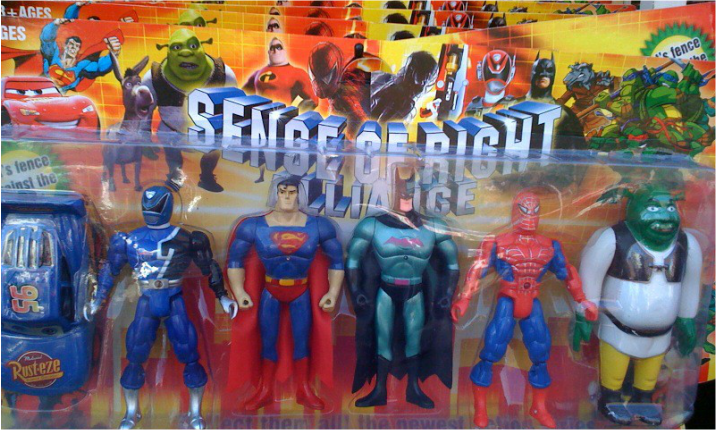 Best Justice League Toys And Action Figures For Kids : Bizarre bootleg toys digitiser