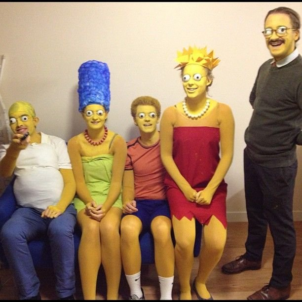 IN PRINCIPLE THIS COSTUME WORKS. IN PRACTICE THE WEARER LOOKS LIKE HEu0027S FALLEN INTO A TRAIN TOILET AND BEEN FLUSHED OUT ONTO THE TRACKS.  sc 1 st  Digitiser 2000 & 31 TERRIFYING SIMPSONS COSPLAY ERRORS