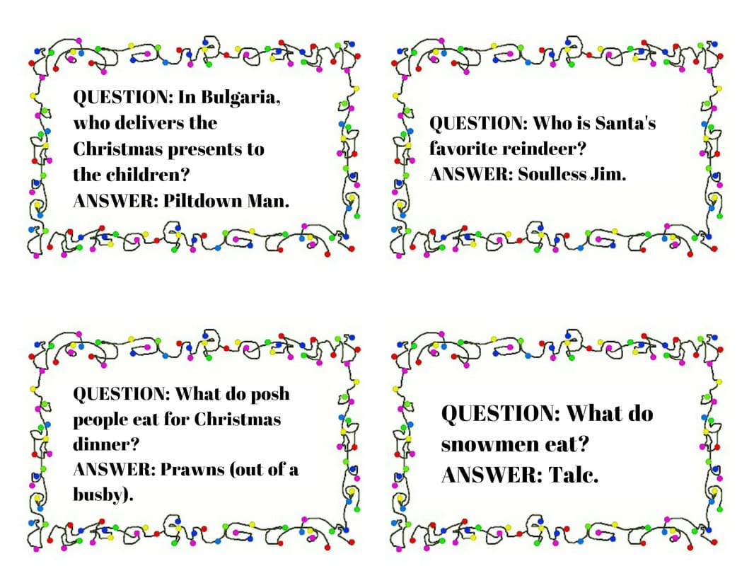 Christmas Cracker Jokes.The Man S Daddy S Christmas Cracker Comedy Jokes Digitiser