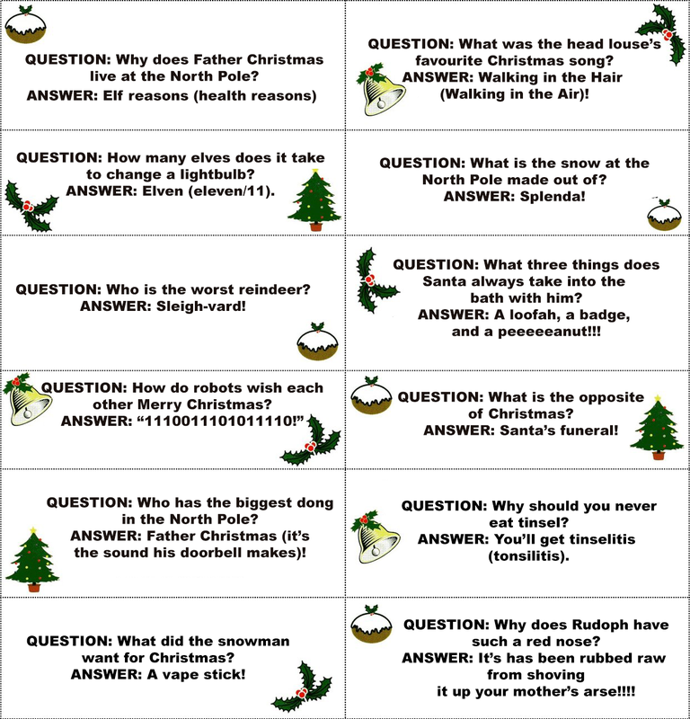 Christmas Cracker Jokes.The Man S Daddy S Christmas Cracker Jokes Digitiser